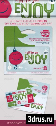 GIFT CARD for christmas