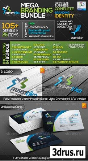 Presentica: Business Identity Mega Branding Bundle