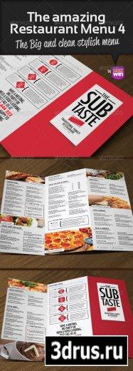 The Amazing Restaurant Menu 4