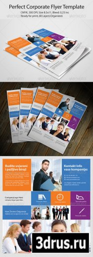 Perfect Corporate Flyer Template